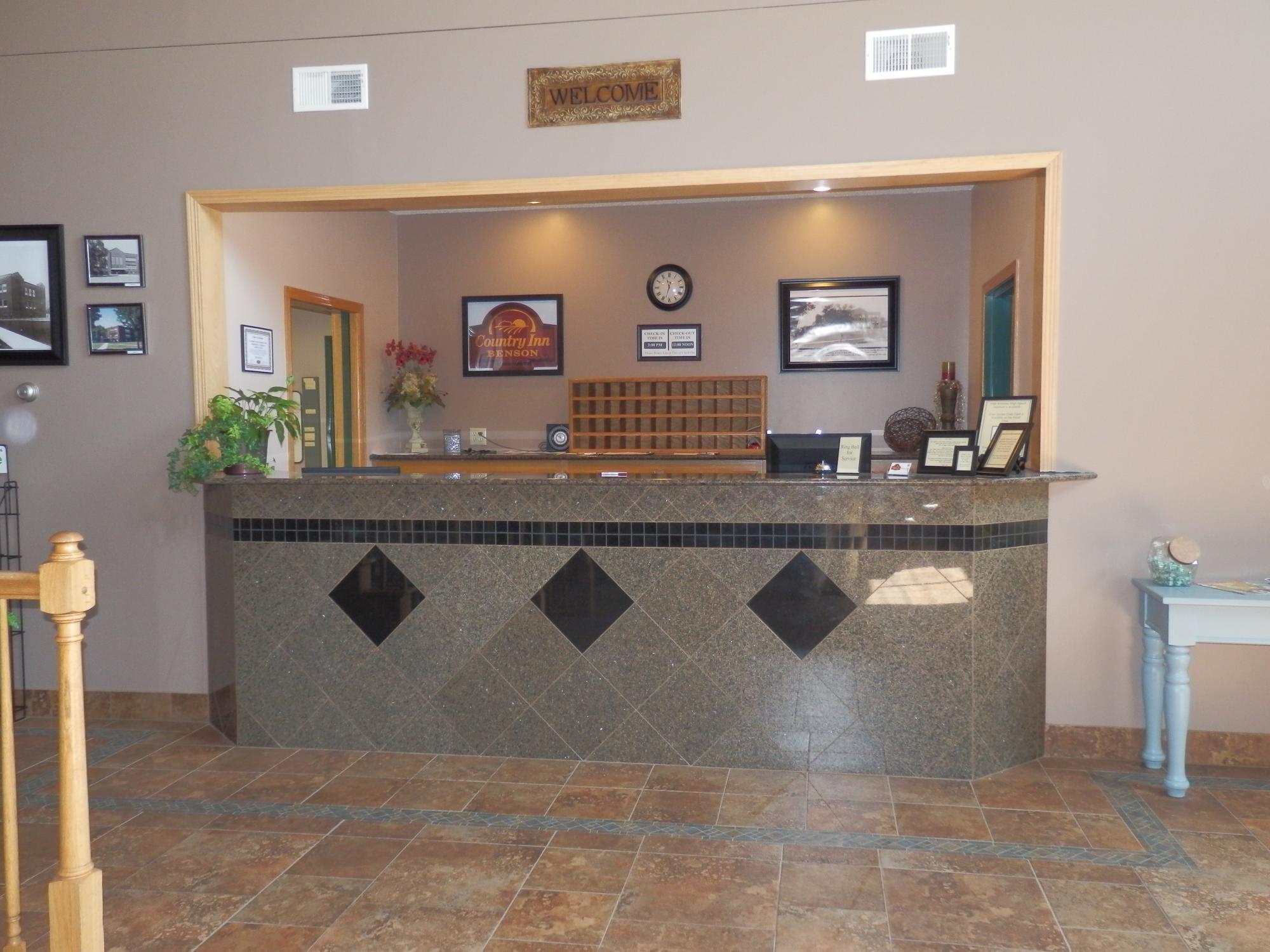 Country Inn Benson Hotel Minnesota